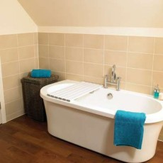 Bath Board Savanah Slatted 30