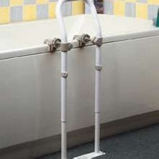 Bath Side Rail Swedish Mkii Chrome