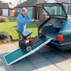 Ramp Fibreglass Scooter Midway Fold 1.8m/6ft