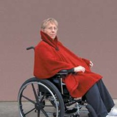 Wheelchair Clothing Contoured Shawl
