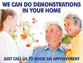 We can do demonstrations in your home